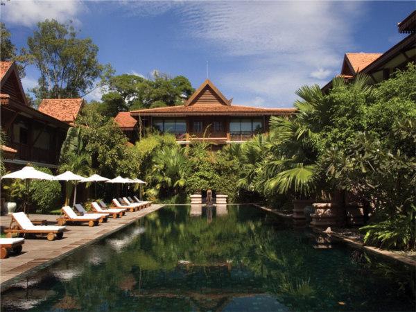 La Résidence d'Angkor staat 9de in de top 20 van beste hotels van Zuidoost-Azië