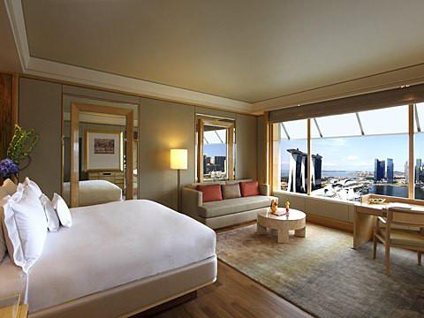 Ritz Carlton Millenia Singapore staat 15de in de top 20 van beste hotels van Zuidoost-Azië