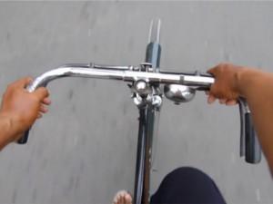 fietstaxichauffeur in Jakarta
