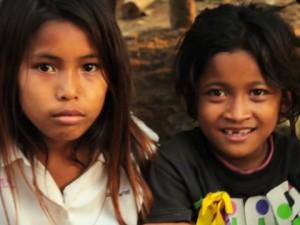 het leven in een cambodjaans dorp