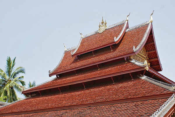 Wat Mai is de grootste tempel van Luang Prabang