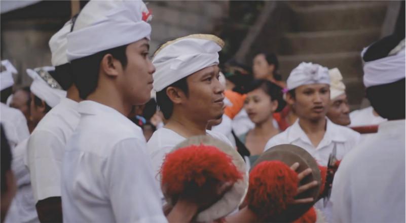de andere kant van Bali