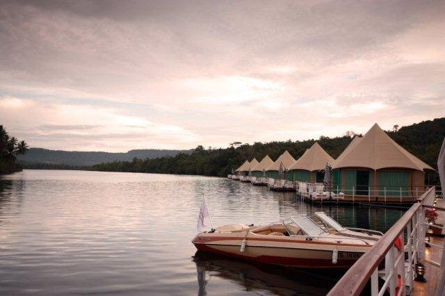 4 unieke hotels in Zuidoost-Azië: 4 Rivers Floating Lodge