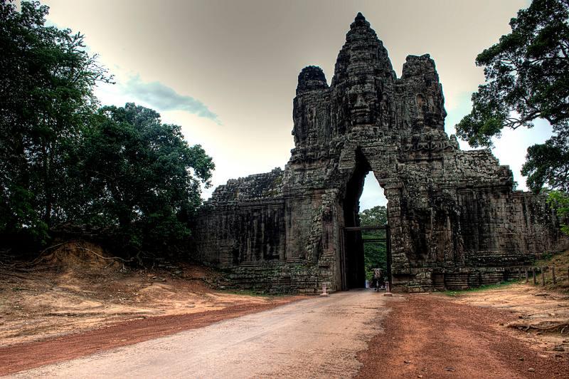 Toegangspoort Angkor Thom
