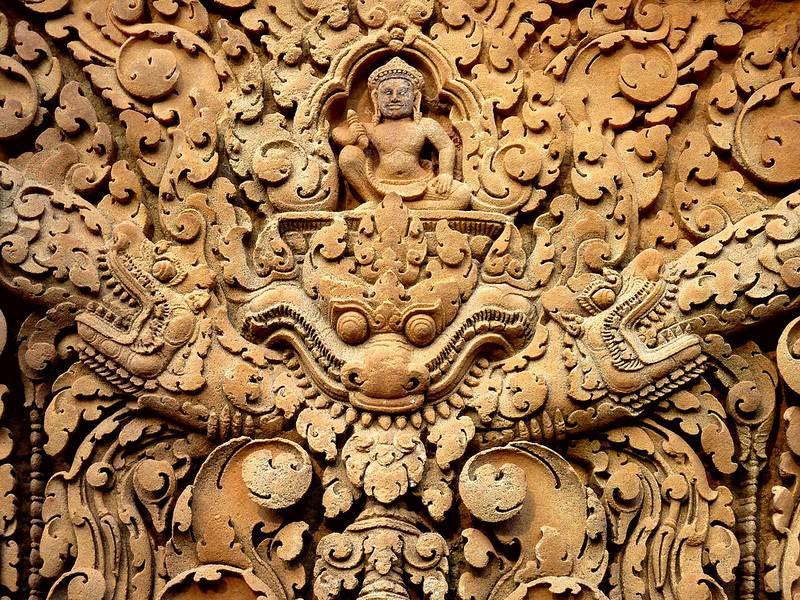 Bas-reliëfs van Banteay Srei