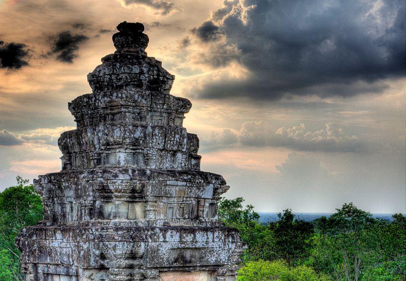 Phnom Bakheng tempel in Angkor