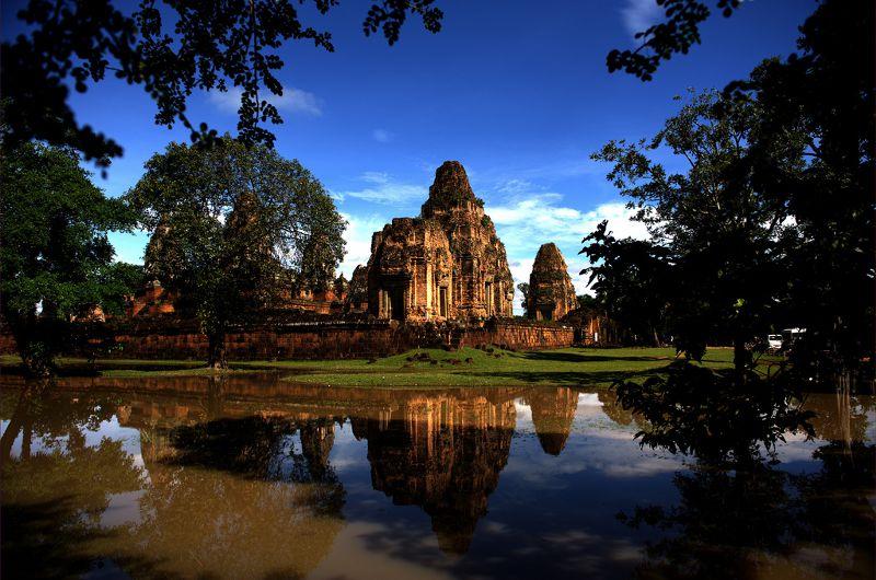 Pre Rup is één van de mooiste tempels van Angkor
