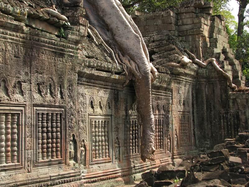 Angkor tempel Preah Khan