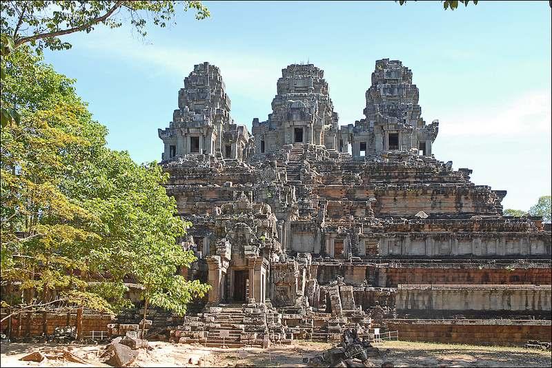 Angkor tempel: Ta Keo