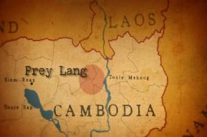 Prey Lang op de kaart