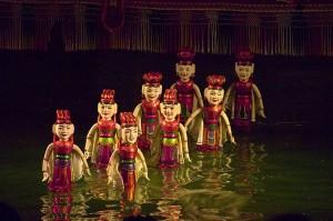 Hanoi bezienswaardigheden: waterpoppentheater