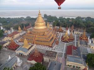 Bagan Tempels: Shwezigon Paya
