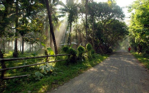Omgeving van Brooke's Point, in het zuiden van Palawan