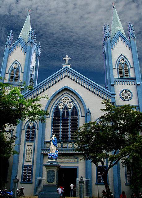 De kathedraal van Puerto Princesa