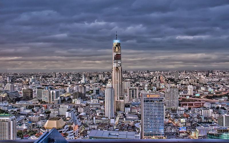 roof top bars Bangkok