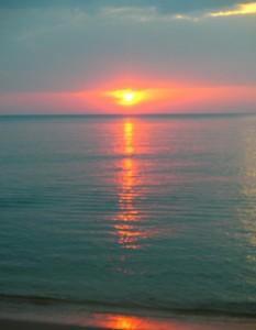 Zuid-Vietnam: zonsondergang Phu Quoc