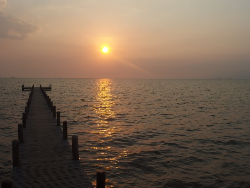 Sunset Cambodja, Kep Sailing club