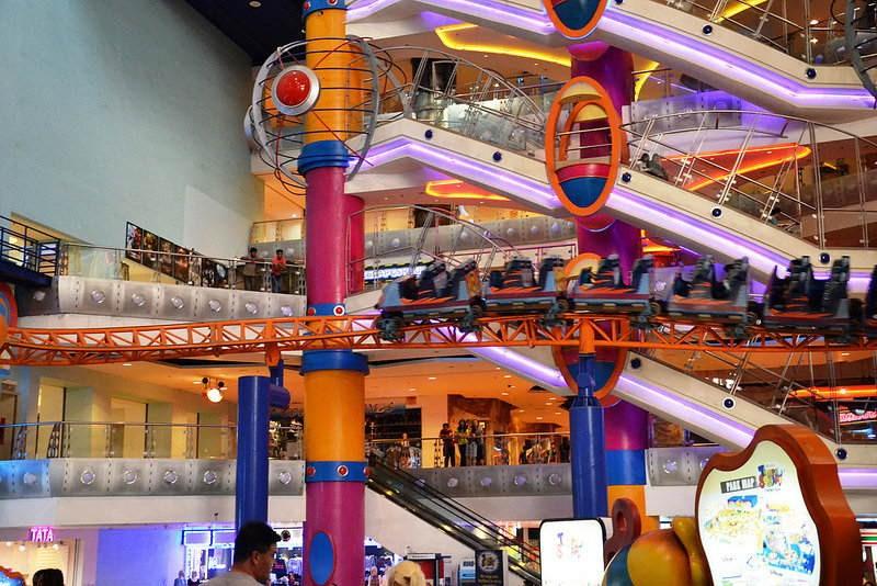 Maleisië met kinderen: mis Berjaya Times Square niet