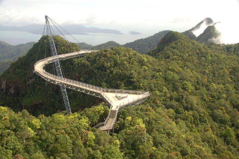 Auto huren Langkawi: ga tijdens je roadtrip ook zeker naar de Langkawi Skybridge