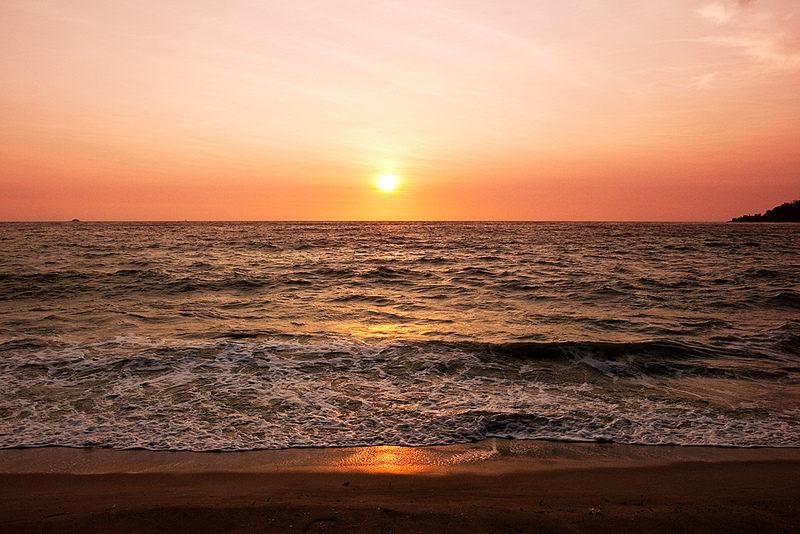 Teluk Senangin strand