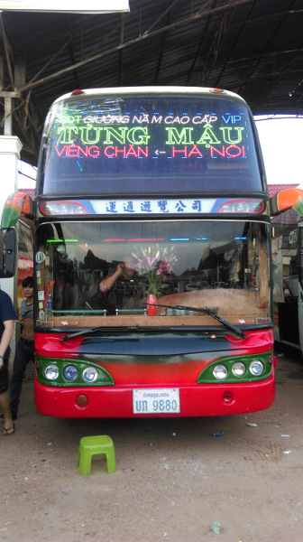 Bus Laos - Vietnam