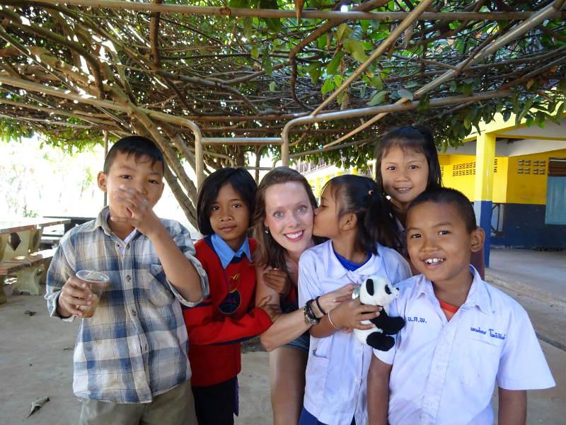 Vrijwilligerswerkt Thailand