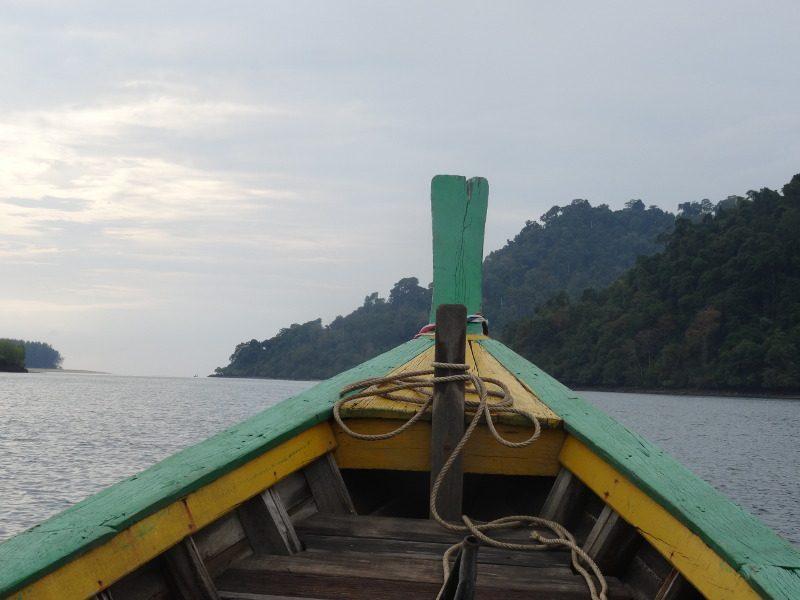 Boot naar Koh Phra Thong