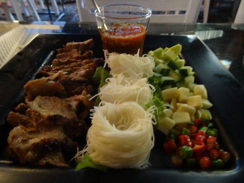 Heerlijk eten in Ranong