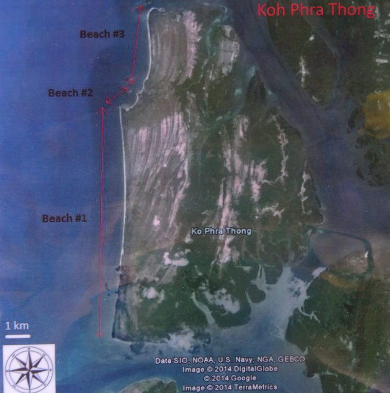 Map Ko Phra Thong zoam
