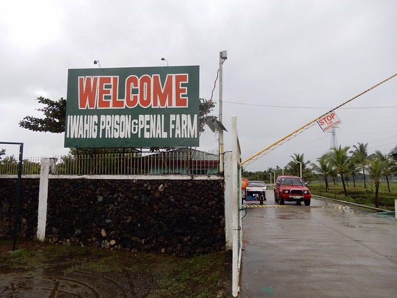 Iwahig Prison & Penal Farm ingang